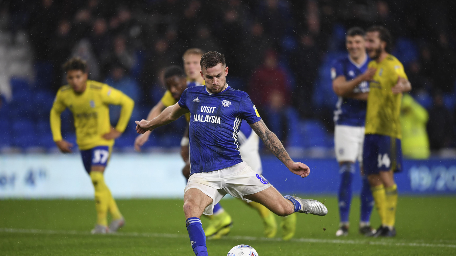 Joe Ralls penalty hero
