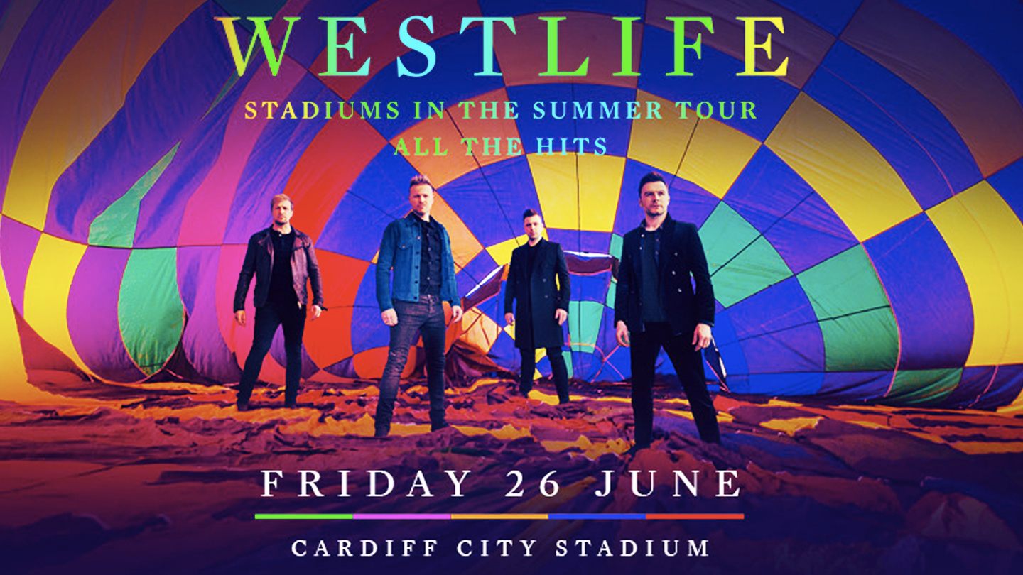 Westlife are coming to CCS...